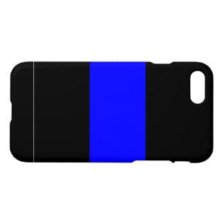 カスタムで薄いブルーライン警察のiPhone 7の場合 iPhone 8/7 ケース