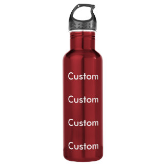 カスタムで赤いステンレス鋼24ozの水差し ウォーターボトル