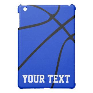 カスタムで青いバスケットボールのiPad Miniケース iPad Mini カバー