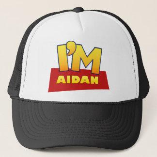 カスタムなアイダンの喜劇的なロゴのワイシャツ キャップ