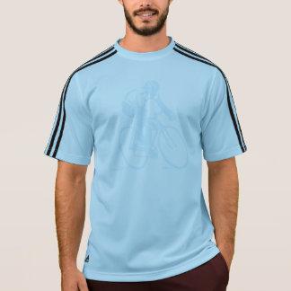 カスタムなアディダスはサイクリングのTシャツを遊ばします Tシャツ