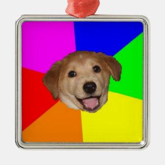 カスタムなアドバイス犬のオーナメント メタルオーナメント