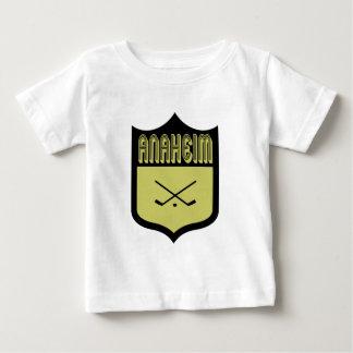 カスタムなアナハイムの盾のロゴ ベビーTシャツ