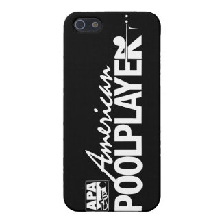 カスタムなアメリカのプールプレーヤー-白 iPhone SE/5/5sケース