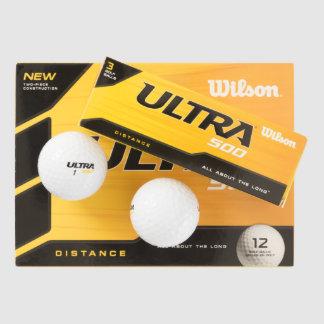 カスタムなウイルソン超500の間隔のゴルフ・ボール(12) ゴルフボール