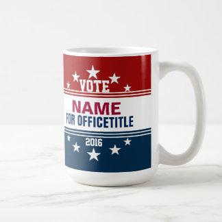 カスタムなキャンペーンマグのテンプレート コーヒーマグカップ