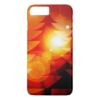 カスタムなクリスマスツリーのiPhoneの場合 iPhone 8 Plus/7 Plusケース