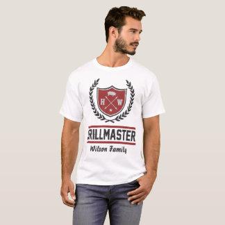 カスタムなグリルのマスター Tシャツ