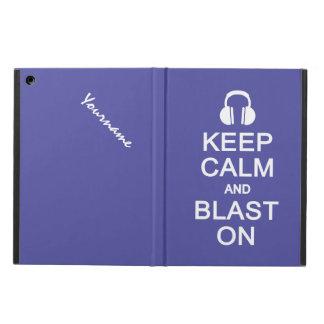 カスタムなケースの平静及び送風を保って下さい iPad AIRケース