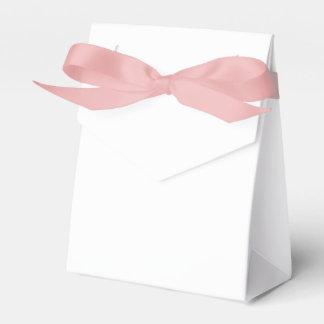 カスタムなテントの好意箱(ピンクのリボン) フェイバーボックス