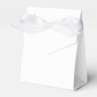 カスタムなテントの好意箱(白いリボン) フェイバーボックス