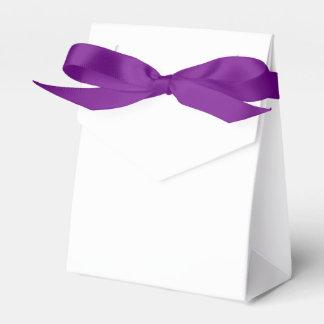 カスタムなテントの好意箱(紫色のリボン)