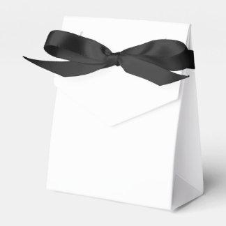 カスタムなテントの好意箱(黒いリボン) フェイバーボックス