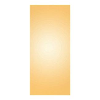 カスタムなテンプレート: 勾配の放射状のオレンジ白 ラックカード