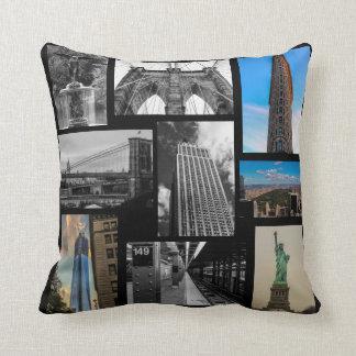 カスタムなニューヨークシティの写真の枕 クッション