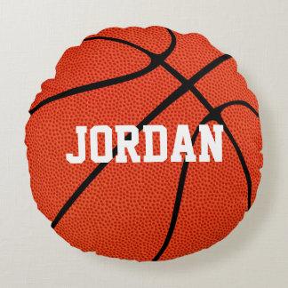 カスタムなバスケットボールの円形の装飾用クッション ラウンドクッション