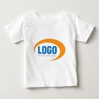 カスタムなビジネスロゴ ベビーTシャツ