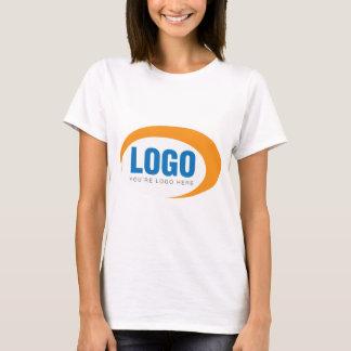 カスタムなビジネスロゴ Tシャツ