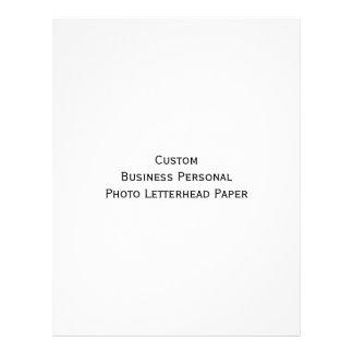 カスタムなビジネス個人的な写真レターヘッド紙 レターヘッド