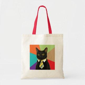 カスタムなビジネス猫のバッグ トートバッグ