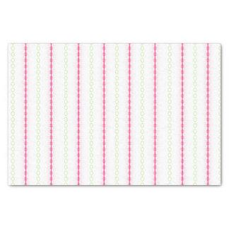 カスタムなピンクおよび緑のティッシュペーパー 薄葉紙
