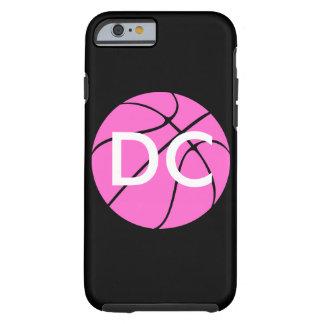 カスタムなピンクのバスケットボール ケース