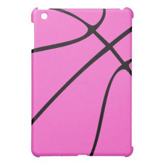 カスタムなピンクのバスケットボール iPad MINIカバー