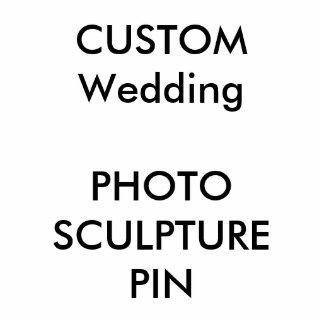 カスタムなフォトスカルプチャーの排気切替器Pin 写真彫刻バッジ