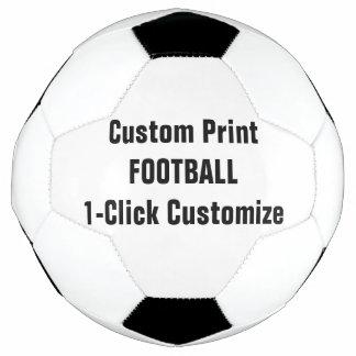 カスタムなプリントのカスタマイズ可能なフットボール サッカーボール