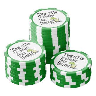 カスタムなポーカー用のチップ-セラピーより安いテキーラ ポーカーチップ