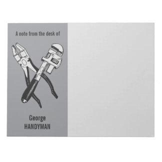 カスタムなメモ帳に用具を使います ノートパッド