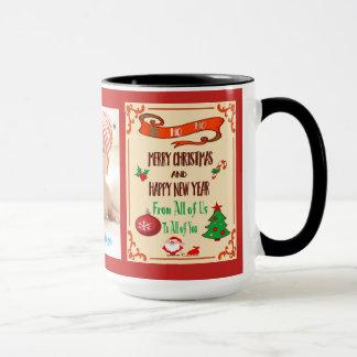 カスタムなメリークリスマスのコンボのマグ マグカップ
