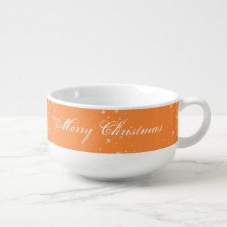 カスタムなメリークリスマススープマグ スープマグ