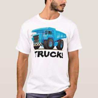 カスタムなメンズ建築のダンプトラック Tシャツ
