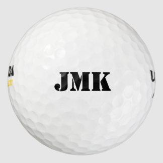 カスタムなモノグラムのロゴ ゴルフボール