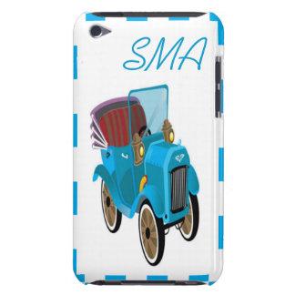 カスタムなモノグラムのヴィンテージの漫画車 Case-Mate iPod TOUCH ケース