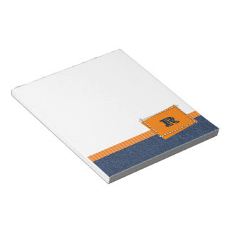 カスタムなモノグラムの父の日のギフトのメモ帳 ノートパッド