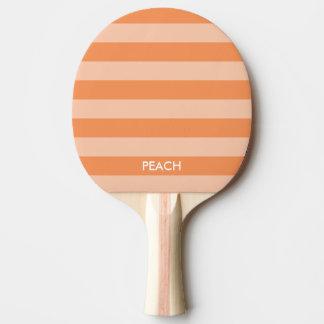 カスタムなモモのストライプのな卓球の卓球ラケット 卓球ラケット