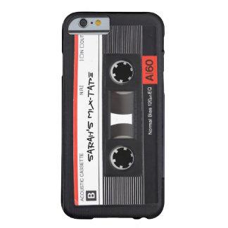 カスタムなレトロのカセットテープ BARELY THERE iPhone 6 ケース