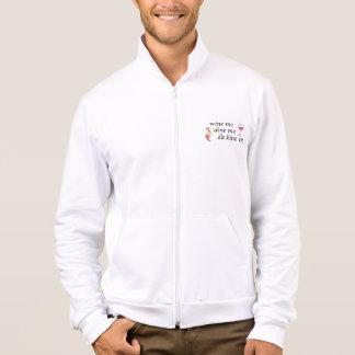 カスタムなロゴのカリフォルニアフリースのジョガーのジャケット ジャケット
