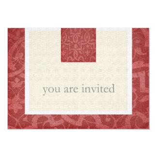 カスタムなヴィンテージの第50誕生日のパーティの招待状 カード