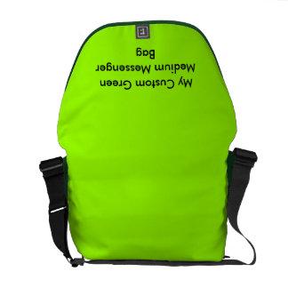 カスタムな中型のメッセンジャーバッグ-緑 メッセンジャーバッグ