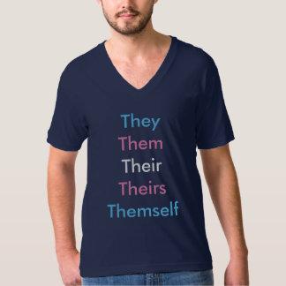 カスタムな代名詞のトランス・ジェンダー1 Tシャツ