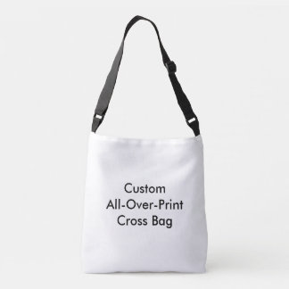 カスタムな全にプリントの十字の遺体袋 クロスボディバッグ