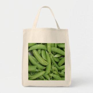 カスタムな内地産の急なエンドウ豆のオーガニックな食料雑貨のトートのBa トートバッグ
