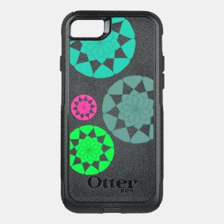 カスタムな円のデザインのiPhone 7のオッターボックスの場合 オッターボックスコミューターiPhone 8/7ケース