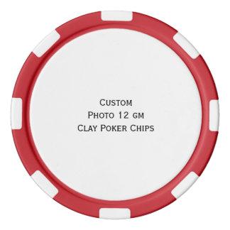 カスタムな写真のトランプのポーカーのトーナメントゲームの破片を作成して下さい ポーカーチップ
