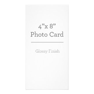 カスタムな写真カードテンプレート カード