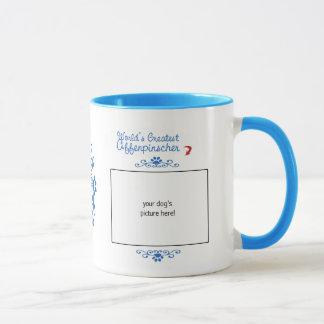 カスタムな写真! 世界の最も素晴らしいアーフェンピンシャー マグカップ