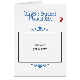 カスタムな写真! 世界最も素晴らしいMunchkin カード